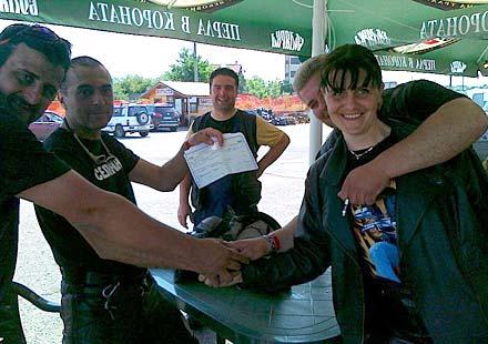"""Победителите от конкурса на MOTO BG """"Мото съборът, който няма да забравя"""""""