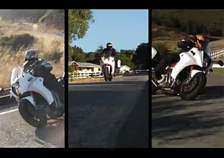 Промо видео на мотоциклета Motus MTS-01