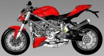 Скици на 2012 Ducati Streetfighter 04