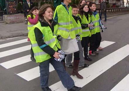 """Стартира инициативата на Пътна полиция """"Вдигни ръка, спри джигита"""""""