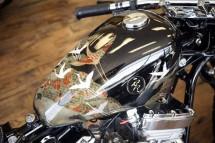 Изкуството на японското кимоно върху мотоциклет ZERO 02