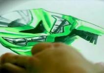 Разкриващо видео за 1440 кубиковия мотор Kawasaki ZZR1400