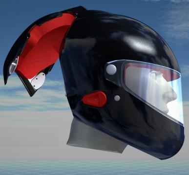 Нова идея за безопасност - каска Voztec  02