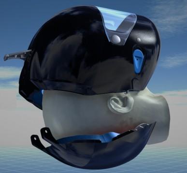 Нова идея за безопасност - каска Voztec  04