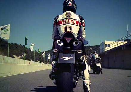Промо видео на лимитираната серия 2012 Yamaha YZF R1 50th Anniversary