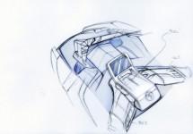 Концепцията за електрически скутер на BMW с камери за задно виждане 06