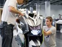 Концепцията за електрически скутер на BMW с камери за задно виждане 08