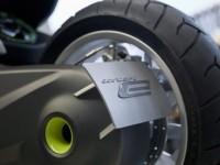 Концепцията за електрически скутер на BMW с камери за задно виждане 09