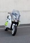 Концепцията за електрически скутер на BMW с камери за задно виждане 12