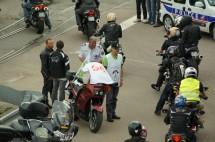 Френските мотористи продължават да стачкуват 03