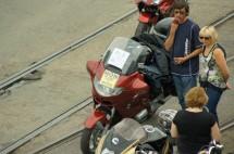 Френските мотористи продължават да стачкуват 06