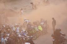 Френските мотористи продължават да стачкуват 08