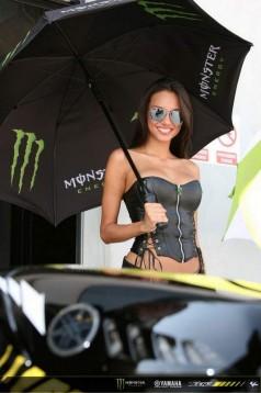 Секси мацки в падока на Арагон GP 09