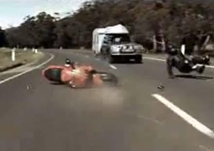 """""""Карането"""" – австралийска кампания за безопасност на мотористите"""