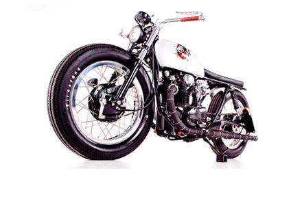 Къстъм The Brat на базата на Honda CB350