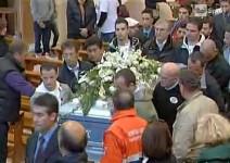 Видео от погребалната церемония на Марко Симончели