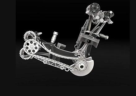 195 кн.с. в Superquadro – най-мощният мотор на Ducati
