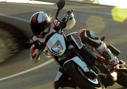 Първи тийзър на мотоциклета KTM 690 Duke (видео)