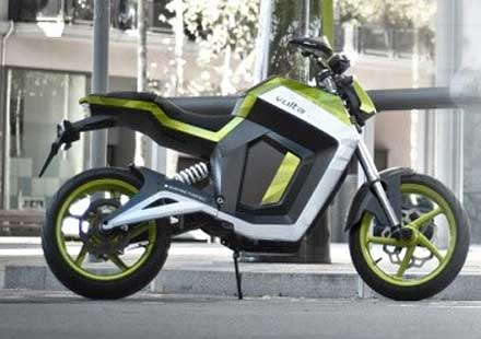 Електрически мотоциклет от Volta Motorbikes