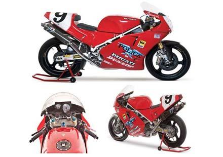 Най-голямата колекция на Ducati на търг догодина