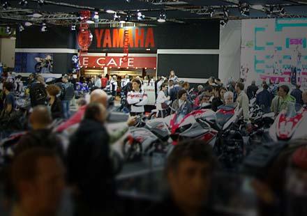 Yamaha на EICMA 2011