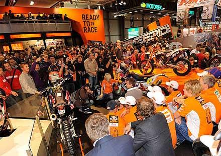 KTM на EICMA 2011