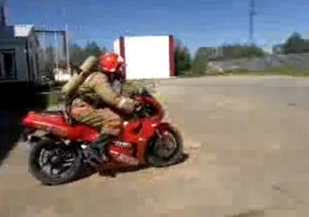 Най-бързата пожарна в Русия