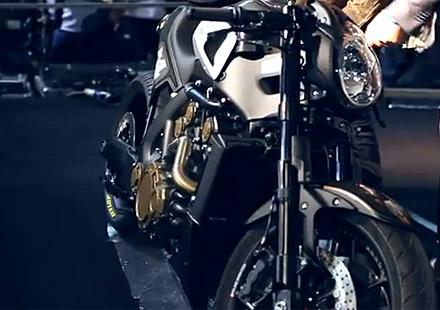 Къстъм Yamaha VMAX от Roland Sands