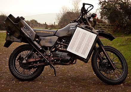Трайал мотоциклет Harley-Davidson в памет на загиналите в Афганистан
