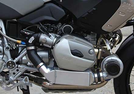 Двойно турбо за BMW R 1200 GS