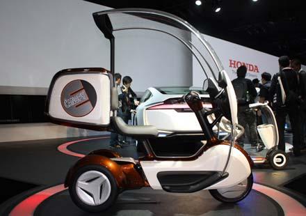 Eлектро-трайк E-Canopy на Honda