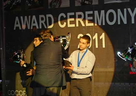 Европейският шампион по супермото Гочев награден в Румъния