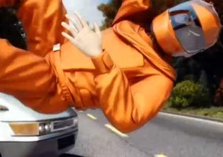 Безопасност за моториста – Въздушна втзглавница – сфера (видео)