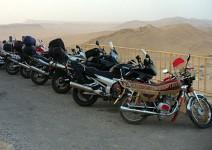 С мотори до Сирия и Йордания