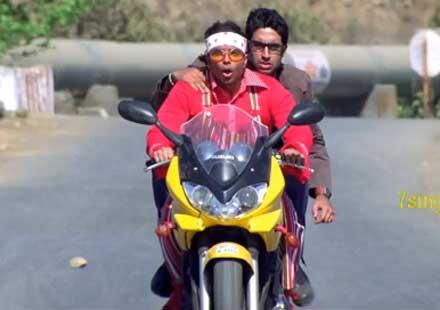 WTF?! Индийски мото нинджи!