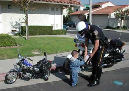 Глобиха 6-годишно дете за превишена скорост