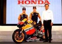 Honda представи тима си в Токио