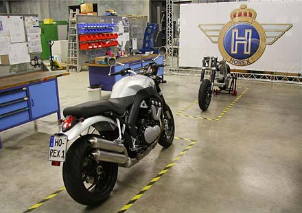 Завода на Horex е готов да започне работа