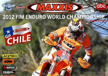 8 кръга за Световния ендуро шампионат през 2012 година