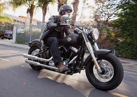Нов олдскул къстъм от Harley-Davidson