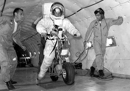 История: Мотоциклети в космоса