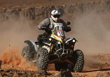 Рали Дакар с нов маршрут през 2013 година, Ценков минава на автомобил