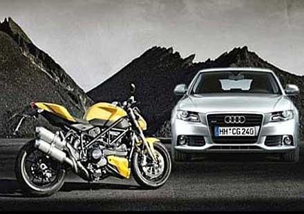 Ducati продадена на Audi