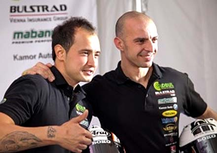 Мартин Чой трети на старта след падане в Словакия
