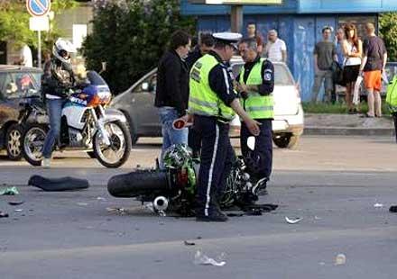Тежка катастрофа с кола и мотори в София