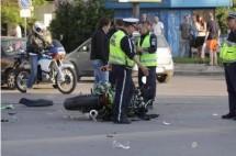 Тежка катастрофа с кола и мотори в София 02