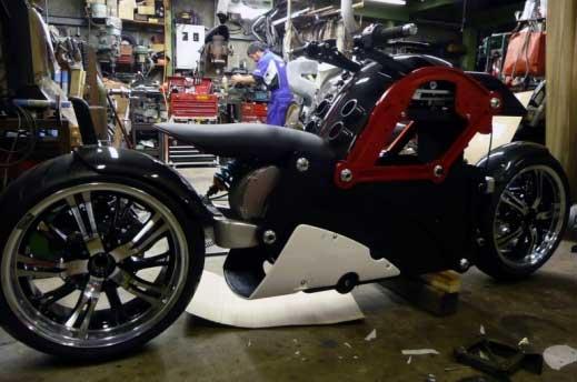 Започва производството на уникалния мотоциклет ZecOO 03
