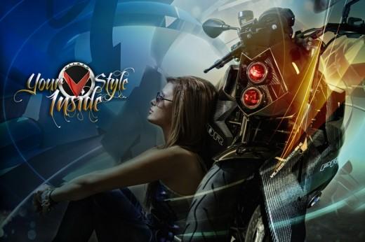 Българският къстъм - Vilner Custom Bike Predator 17