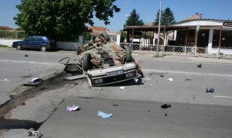 Двама шофьори загинаха при жестока катастрофа 01