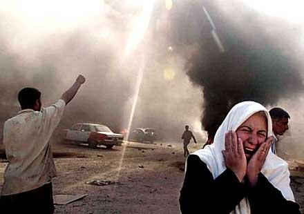 При експлозия на миниран мотоциклет в Ирак загинаха шестима души
